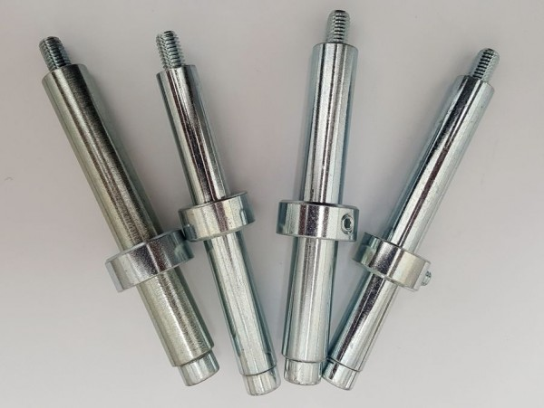 Bolzen Set 107 mm für Sitzbreite 48 - 50 cm