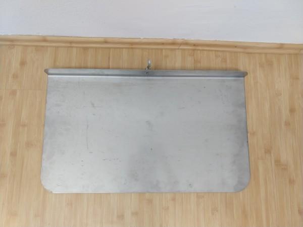Aufsteckplatte mit Sicherungsstift - MTK